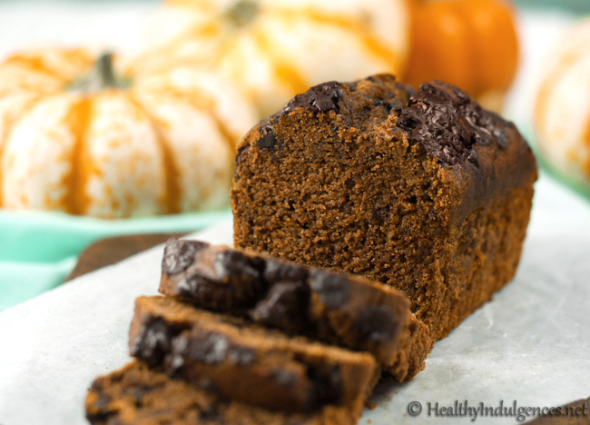 sugar-free-chocolate-chip-pumpkin-bread