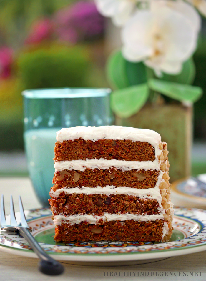 Carrot Cake Made With Stevia