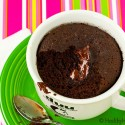 Healthy Instant Chocolate Cake (aka 1 Minute Microwave Cake) and a GIVEAWAY!